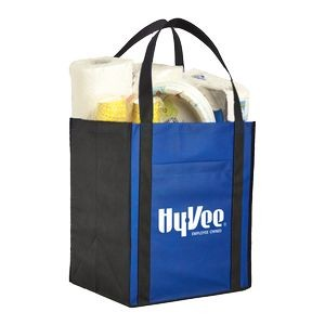 Large Non-Woven Grocery Tote w/ Pocket