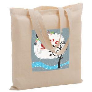 "Cotton Canvas Tote Bag w/ Full Color (15""x15"") - Color Evolution"