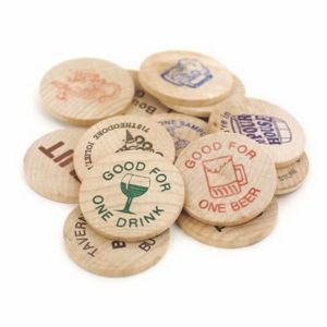 Wooden Nickel (Spot Color)