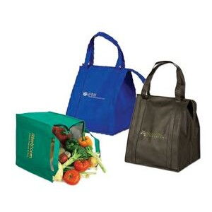 Large Insulated Grocery Tote Bag (Full Color)
