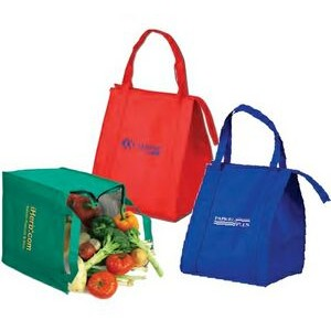 Medium Insulated Grocery Tote Bag (Full Color)