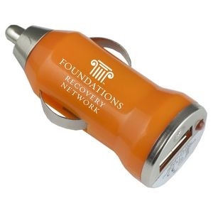 """Vienna"" USB Car Charger & Adapter (Overseas)"