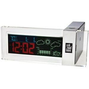Desktop Clock Weather Forecast Station