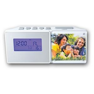 Radio Clock w/ Picture Frame