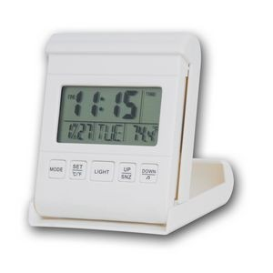 Travel Alarm Clock with LED Backlight