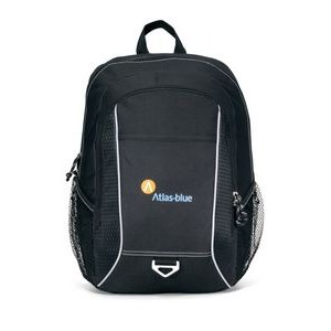 Atlas Computer Backpack - Black