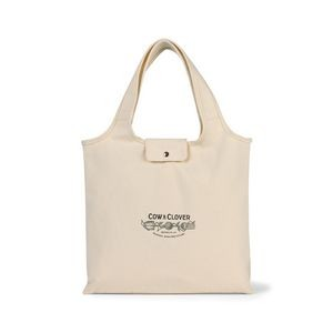 Willow Deluxe Cotton Packable Tote - Natural