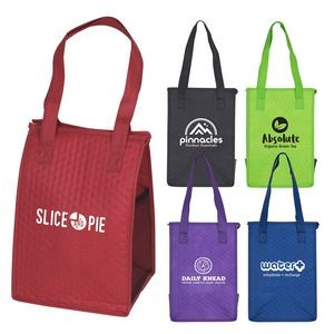 Cross Country - Insulated Lunch Tote Bag