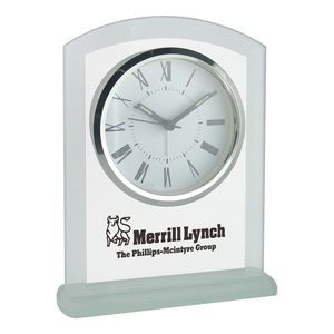Clock - Panel Glass Desk Alarm Clock