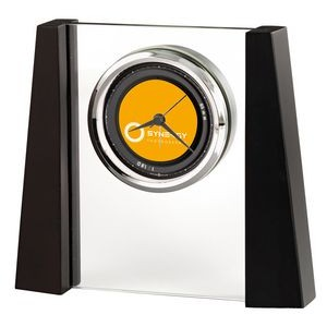 Howard Miller Dixon Contemporary Tabletop Alarm Clock (Full Color Dial)