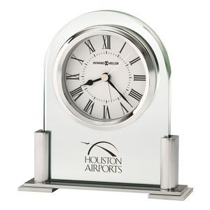 "Howard Miller ""Brinell III"" quartz tabletop clock"