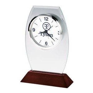 Howard Miller Waylon Desk Clock (Full Color Dial)