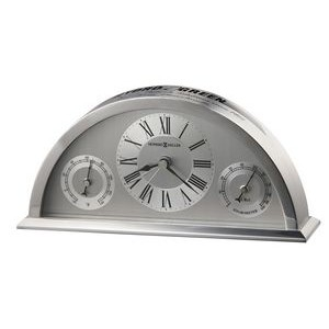 Howard Miller Weatherton Arch Tabletop Clock w/ Hygrometer