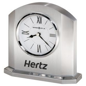 Howard Miller Lincoln metal table clock