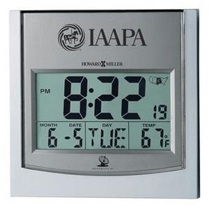 Howard Miller Techtime I radio controlled wall clock