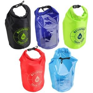 10-Liter Waterproof Gear Bag With Touch-Thru Pouch