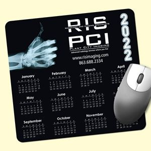 "Barely There™ 7.5""x8""x.02"" Ultra-Thin Calendar Mouse Pad"