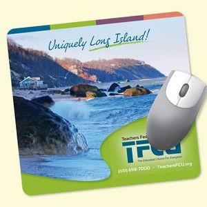 "Origin'L Fabric® 7.5""x8""x1/4"" Antimicrobial Mouse Pad"