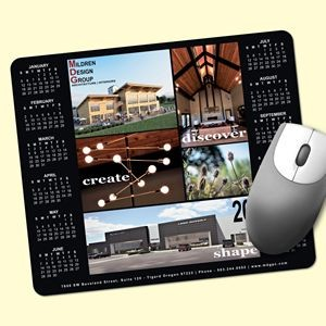 "Barely There™ 8""x9.5""x.02"" Ultra-Thin Calendar Mouse Pad"