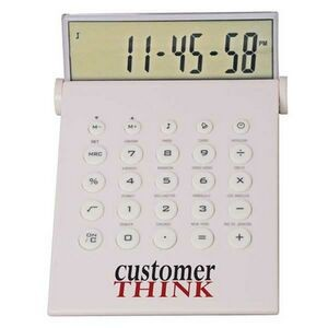 Desktop Calculator/ World Time Alarm Clock in One