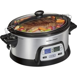 Hamilton Beach FlexCook 6 Qt Stay or Go Slow Cooker