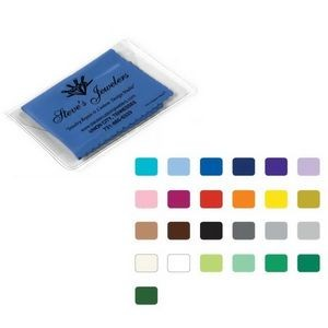 "Ultra Opper Fiber® Cloth In Vinyl Pouch (6""x6"")"