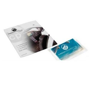 "Suede Opper Fiber® Cloth in Vinyl Pouch (8"" x 8"") - Full Color"